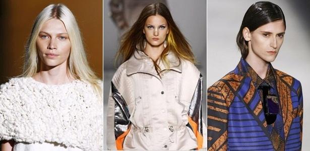 Aline Weber, Nadine Ponde e Daiane Conterato são modelos brasileiras com carreira internacional - Alexandre Schneider/UOL