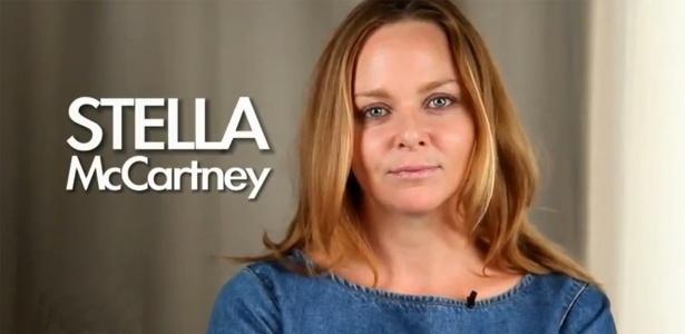 Stella McCartney em vídeo para a Peta contra o uso de couro na indústria da moda - Reprodução