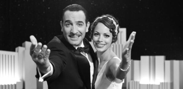 Dupla Jean Duradin e Bérénice Bejo em O Artista