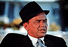 Frank Sinatra em foto de 1970