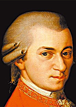 O compositor Wolfgang Amadeus Mozart