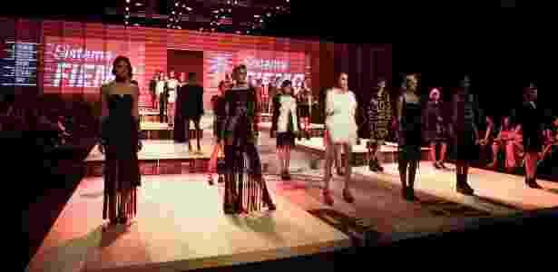 Desfile de abertura da edição de Inverno 2012 do Minas Trend Preview - Divulgação