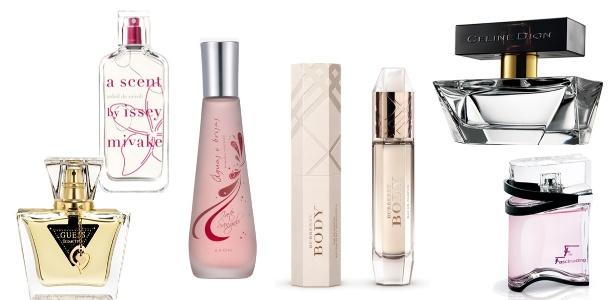 Perfumes femininos que chegam ao mercado brasileiro em 2012 trazem notas florais frutais - Divulgação