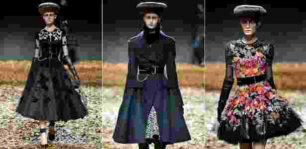 Em sua estreia nas passarelas, a McQ deixou de lado a moda casual para apostar na elegância - Getty Images