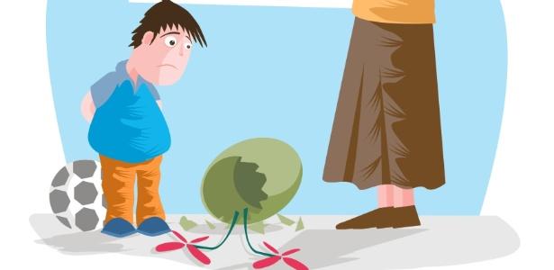 Dar broncas com muita frequência é um dos principais erros que os pais cometem - Thinkstock
