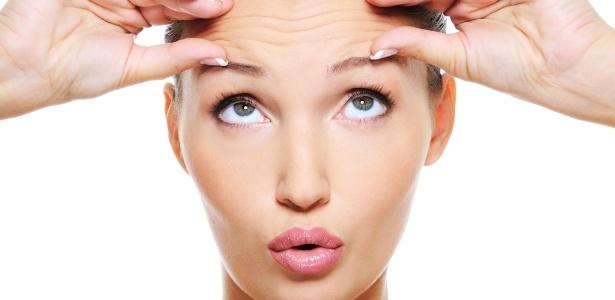 Marcas de expressão podem virar rugas estáticas com o passar do tempo; Botox ajuda a prevenir o problema - Thinkstock