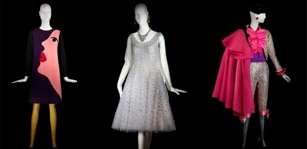 """Looks da exposição """"Yves Saint Laurent: a retrospectiva"""", no Museu de Arte de Denver, nos Estados Unidos - Divulgação"""