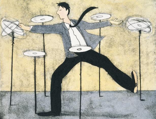 Na ânsia de ter sucesso, profissionais assumem tarefas demais e negligenciam a própria vida - Thinkstock