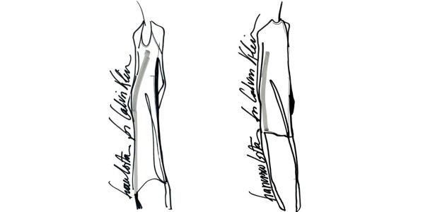 """Desenhos da coleção do estilista Francisco Costa em parceria com a rede norte-americana Macy""""s - Divulgação"""