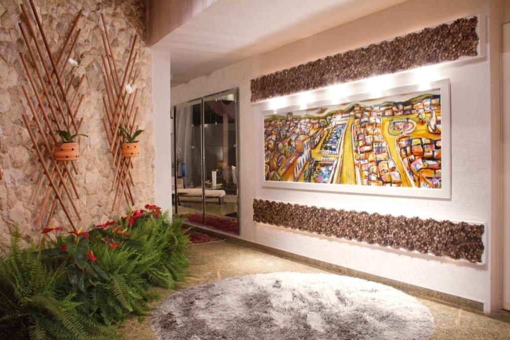Morar Mais por Menos - Goiás - 2012. Entrada principal - designer de interiores - Hanna Lúcia Oliveira