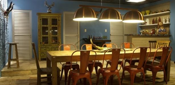 5ª Morar Mais por Menos - Goiás. Restaurante projetado pelos arquitetos Fábio Guedes e Julianny Xavier - Gabriel Freitas/ Divulgação