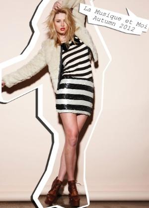 Look da marca australiana Toi et Moi para o Inverno 2012 - Divulgação