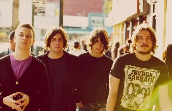A banda inglesa Arctic Monkeys