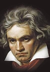 O compositor alemão Ludwig van Beethoven (1770-1827)
