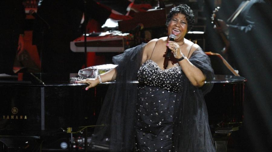 A cantora Aretha Franklin em apresentação de 2009 - Reuters