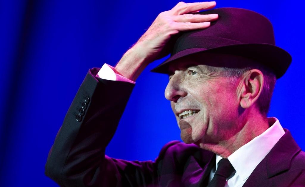 Leonard Cohen durante show no Luis Puig de Valencia, na Espanha (18/09/09)