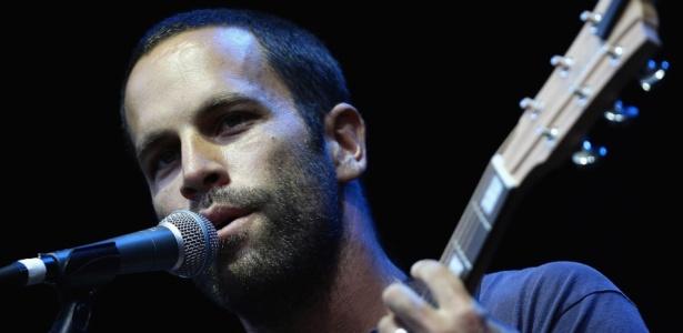 Jack Johnson durante apresentação em Melbourne, na Austrália (14/03/2009)