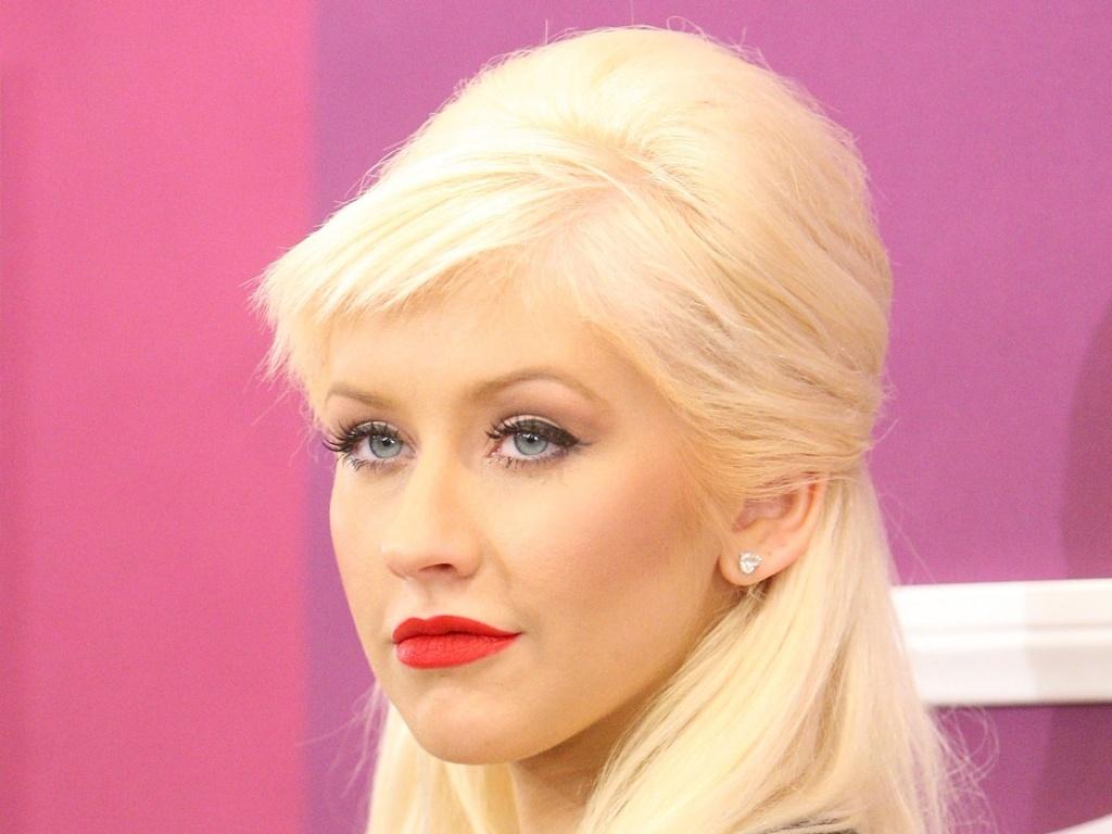 Christina Aguilera durante evento anual da