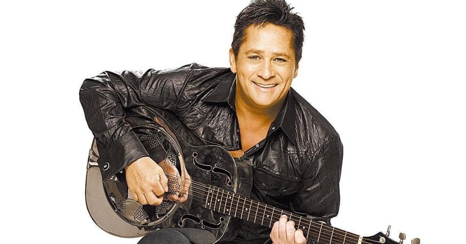 O cantor Leonardo em foto de 2008