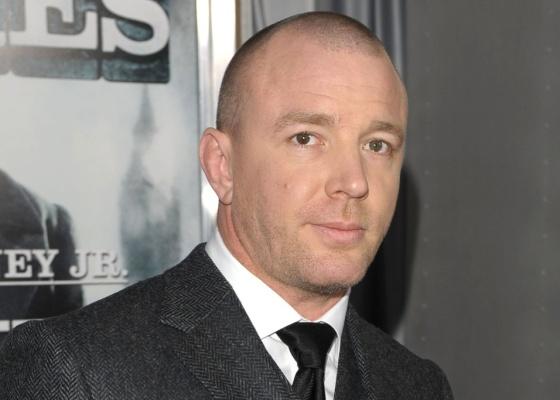 O cineasta inglês Guy Ritchie na estreia de Sherlock Holmes, em Nova York (17/12/2009)