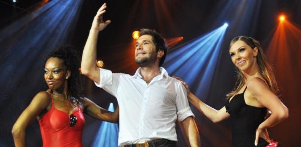 Daniel durante show para gravação de DVD no interior de São Paulo (13/01/2010)