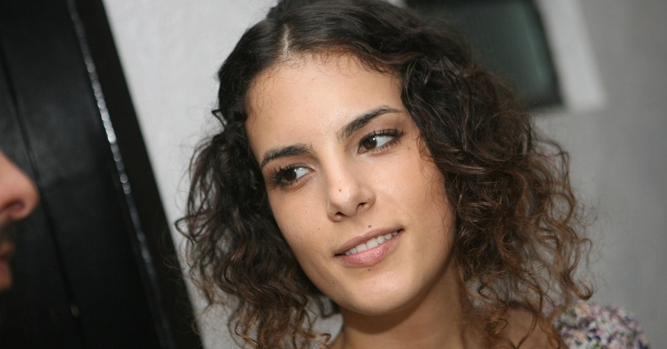 A cantora Céu durante festa de encerramento do ano no Studio SP, em São Paulo (23/12/2009)
