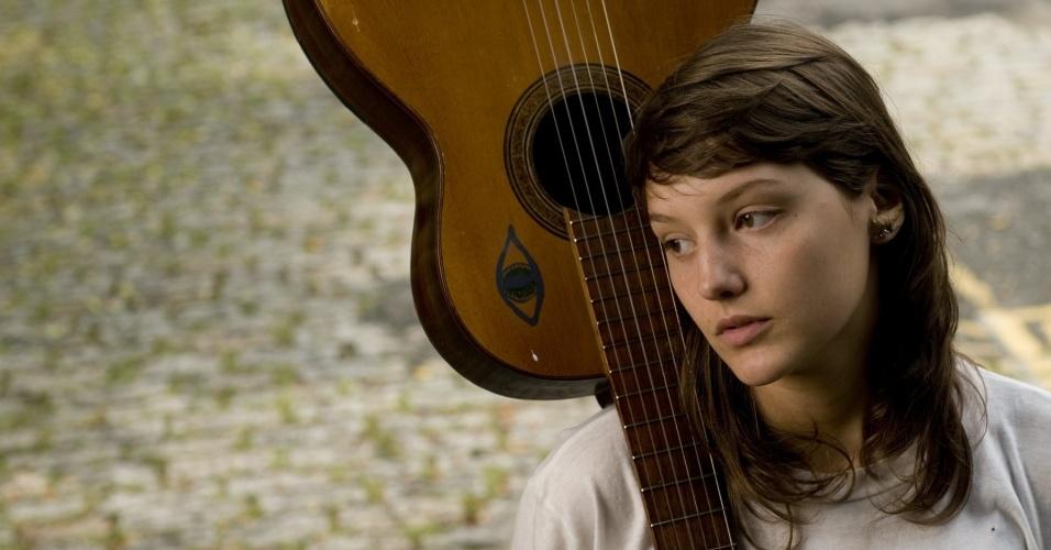A cantora Mallu Magalhães em São Paulo (1º/12/2009)