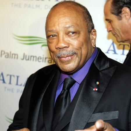 O lendário produtor Quincy Jones - AFP PHOTO/KARIM SAHIB