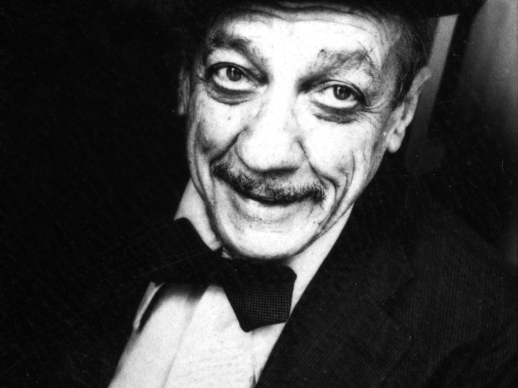 O compositor e sambista paulista Adoniran Barbosa em São Paulo (27/03/1978)
