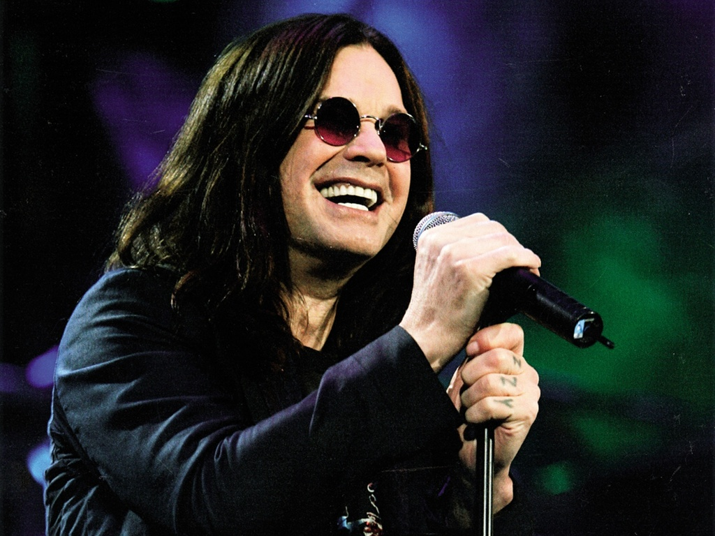 O cantor inglês Ozzy Osbourne em foto de divulgação
