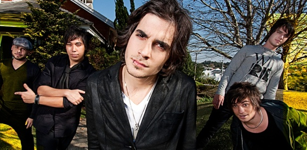A banda Hori, do ator Fiuk, em imagem de divulgação