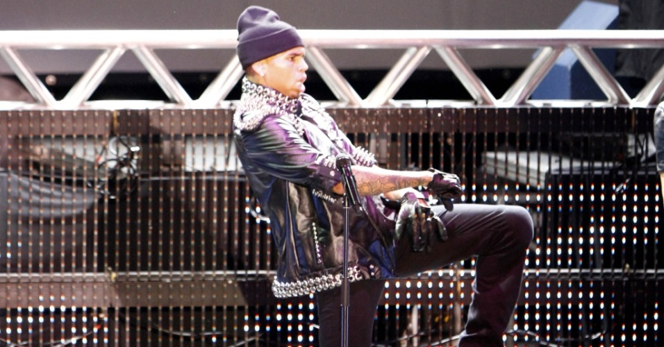 Show do cantor norte-americano Chris Brown em Belo Horizonte (19/05/2010)