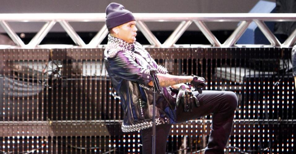 Show do cantor norte-americano Chris Brown em Belo Horizonte (19/05/2010)