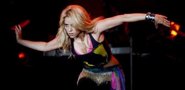 Cantora colombiana Shakira se apresenta no Rock in Rio Lisboa (21/05/2010)