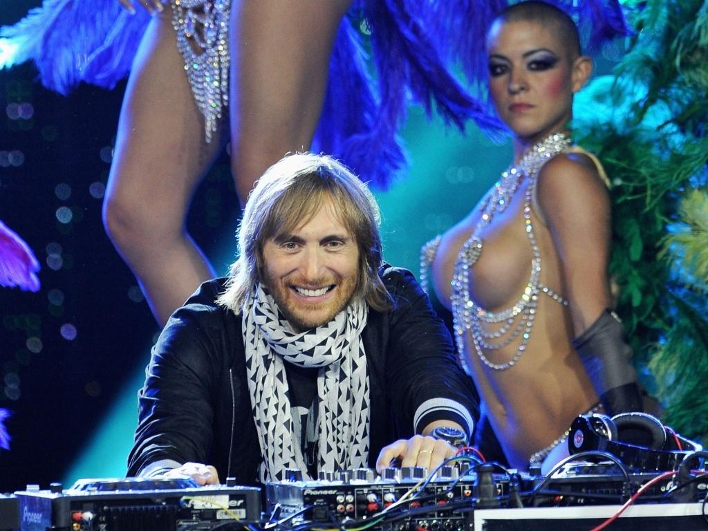 David Guetta se apresenta na premiação World Music, em Mônaco (18/05/2010)