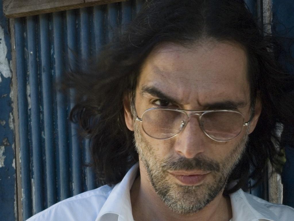O cantor e compositor Lobão no Rio de Janeiro (28/03/2007)