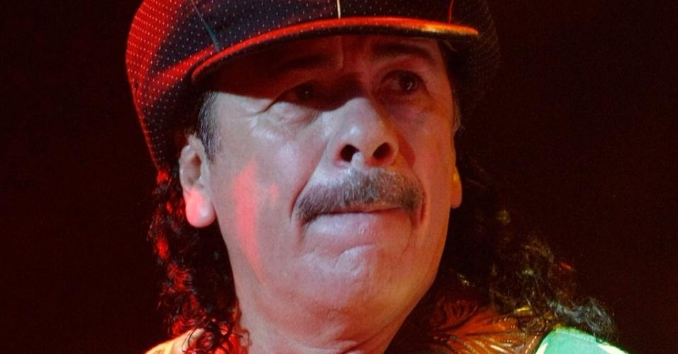 Carlos Santana em apresentação em Las Vegas (27/05/2009)