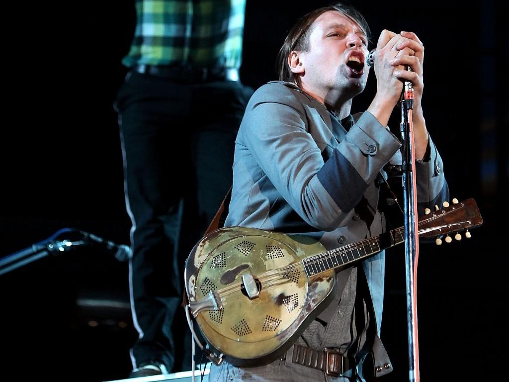 Arcade Fire faz show no segundo dia do Reading Festival, Inglaterra (28/08/2010)