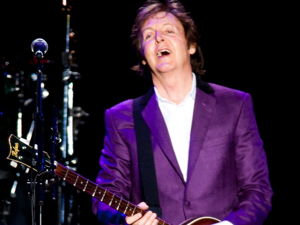 Paul McCartney durante segundo show da turnê