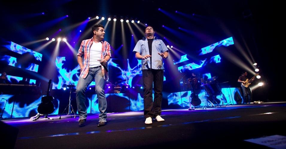 Dupla sertaneja Bruno e Marrone se apresenta em São Paulo (10/12/2010)