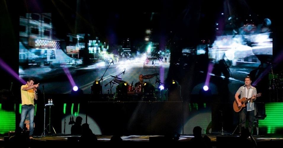 A dupla Bruno & Marrone se apresenta no Citibank Hall, no Rio de Janeiro (28/1/11)