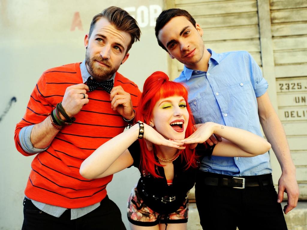 A banda norte-americana Paramore em foto de divulgação