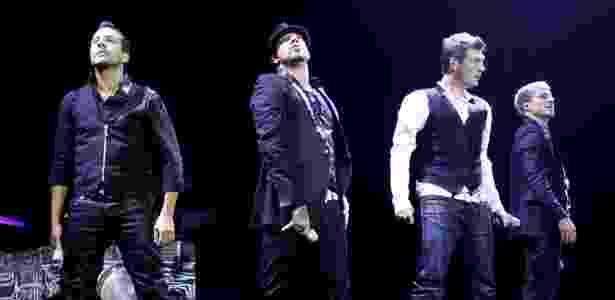 """Backstreet Boys faz show da turnê """"This Is Us"""" no Rio de Janeiro (25/02/2011) - AgNews"""