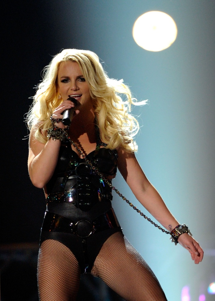 Britney Spears se apresenta no Billboard Music Awards, em Las Vegas (22/5/2011)