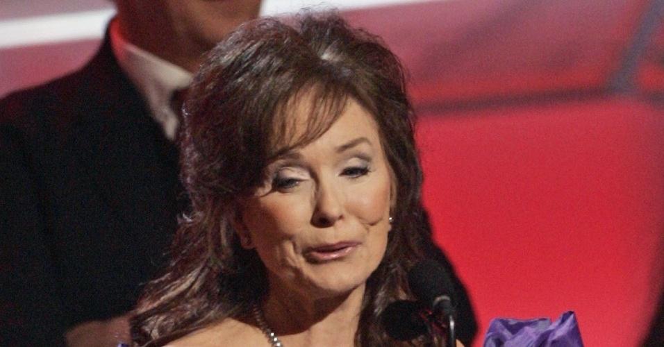 Loretta Lynn no Grammy, em 2005