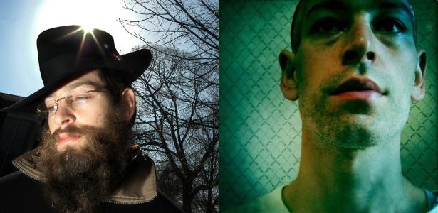 Antes e depois do músico Matisyahu