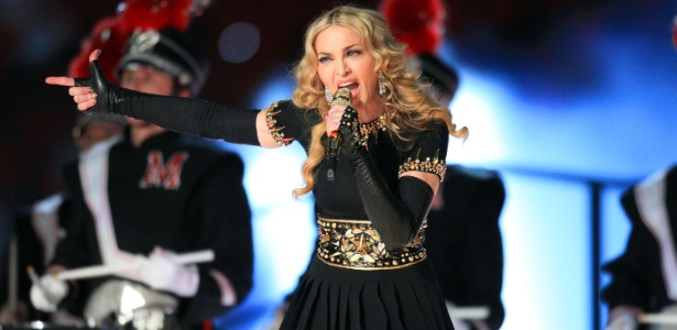 Madonna apresenta-se no intervalo do Super Bowl