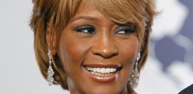 Whitney Houston é fotografada no Barbara Davis Center for Childhood Diabetes em 2006