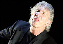 Roger Waters durante show no estádio do Morumbi, em São Paulo