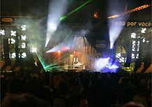Palco do Skol Beats 2008